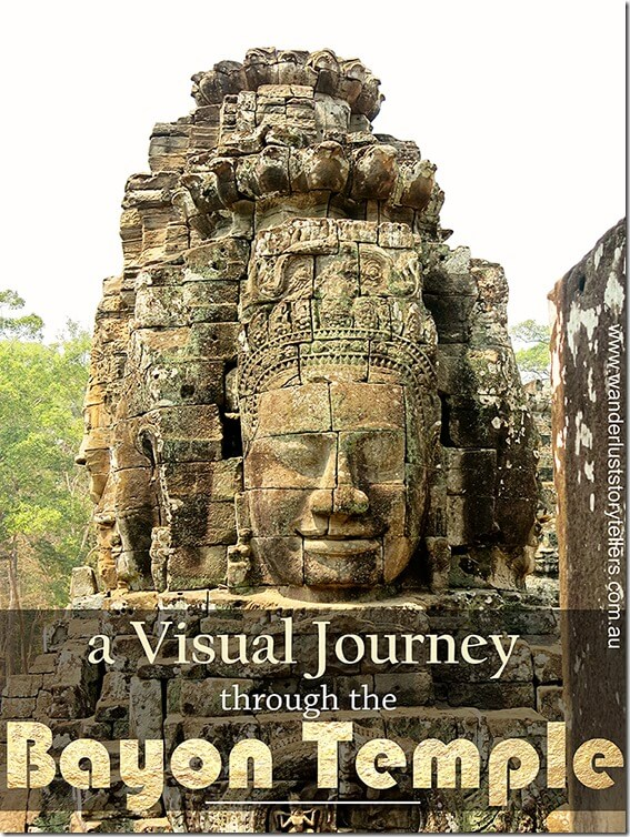 Bayon Temple Pictures and a short video