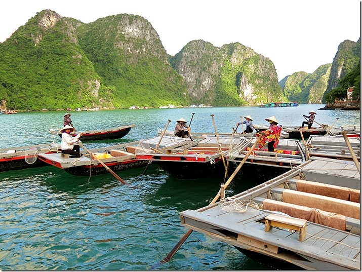Cua Van Halong Bay Floating Village