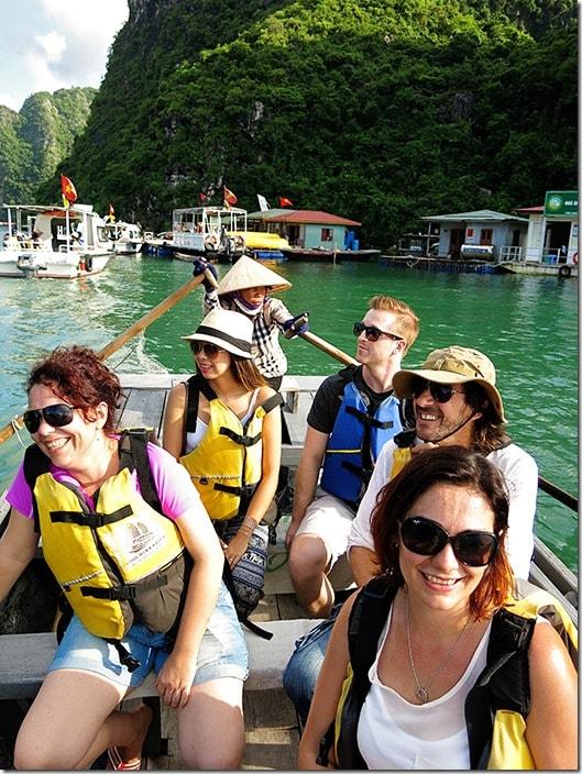 Ha Long Bay Cua Van vietnam