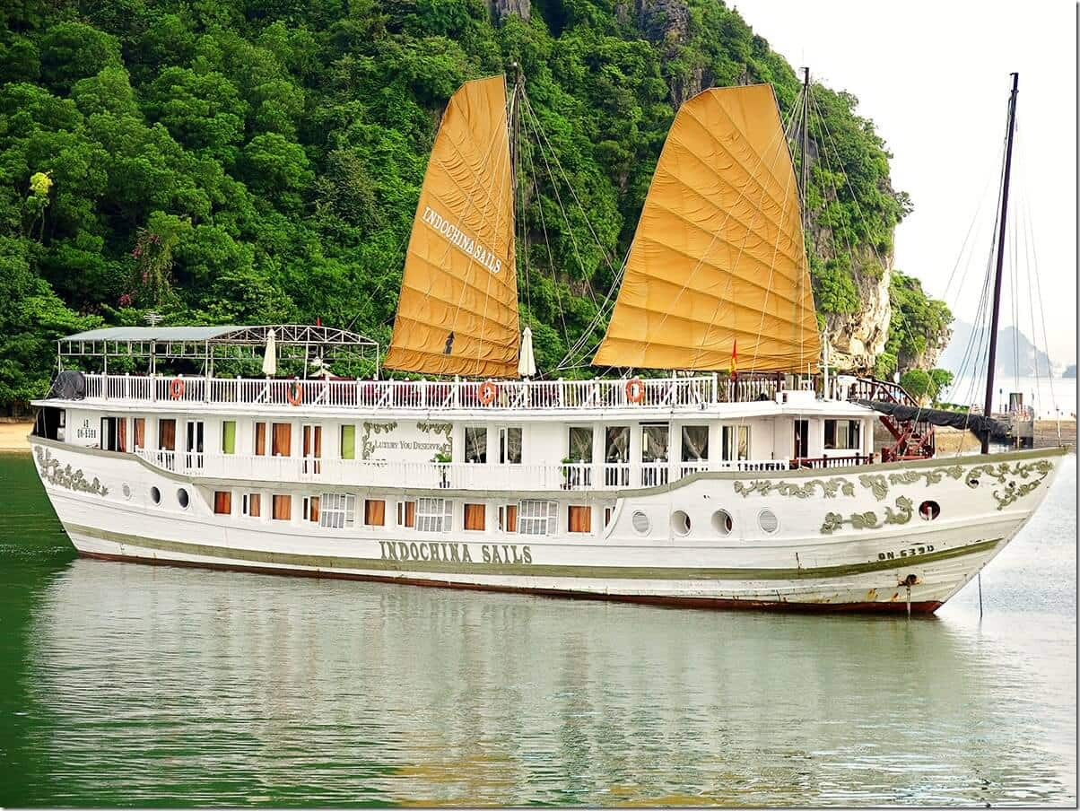 Luxury Cruise with Indochina Sails on Halong Bay, Vietnam