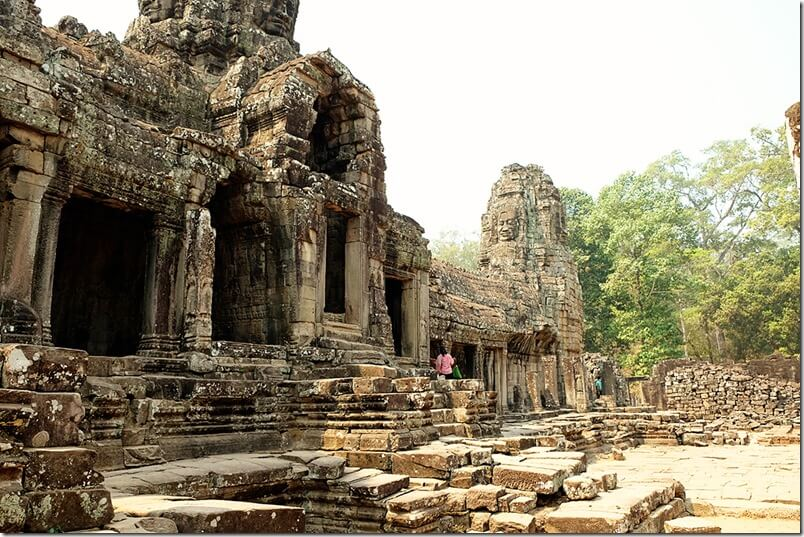 Siem Reap Bayon Temple Pictures