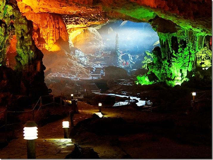 Surprise Cave Halong Bay Vietnam