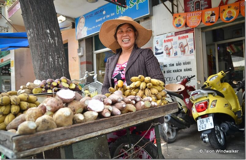 Vendor in Saigon