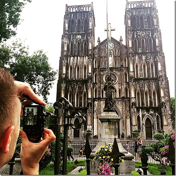 Notre Dame of Hanoi - Vietnamese Architecture