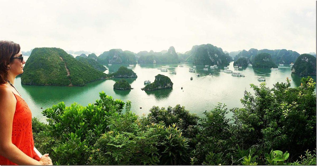 Travel to Vietnam - Ha Long Bay - Titov Island