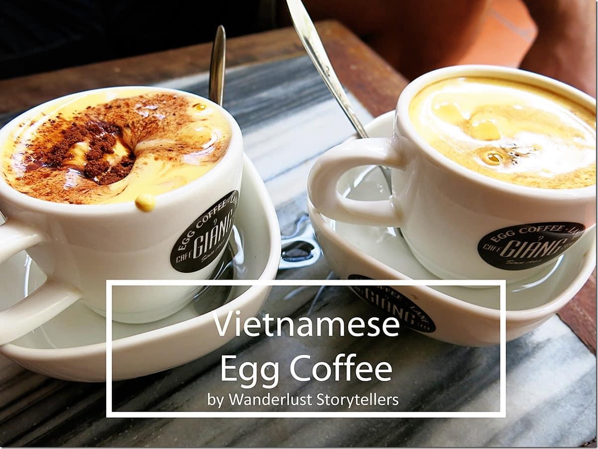 Hanoi Egg Coffe - Ghian Cafe
