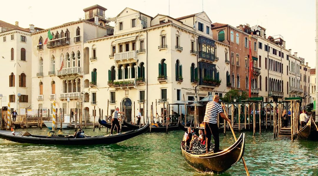 Travel to Italy in Venice