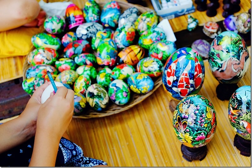 Balinese Egg Painting Class
