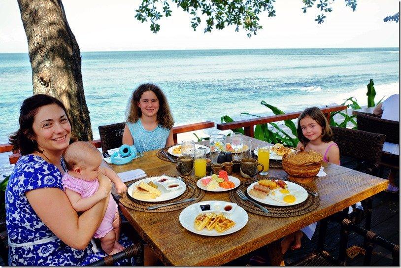 Breakfast at Jeeva Klui Senggigi
