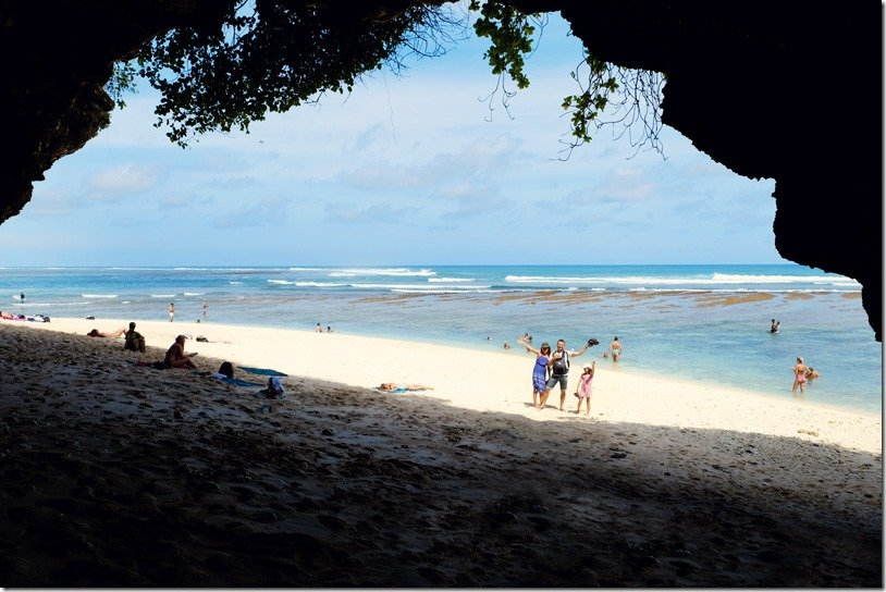 Greenbowl Beach Bali