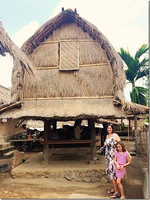 Traditional Sasak Village called Sade in Rambitan