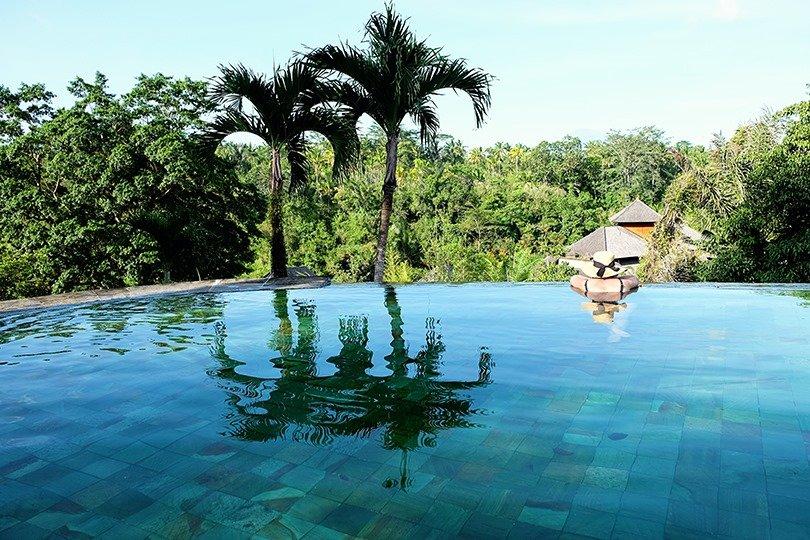 The payogan villa resort spa ubud family friendly for Infinity pool ubud