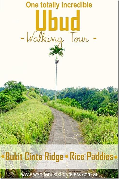 Ubud Walking Tour | Rice Fields Walk | Ridge Walk
