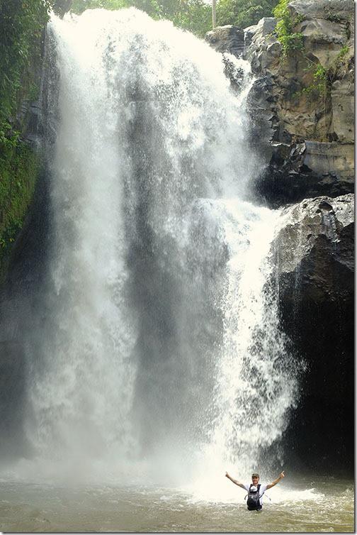 Waterfall near Ubud Bali
