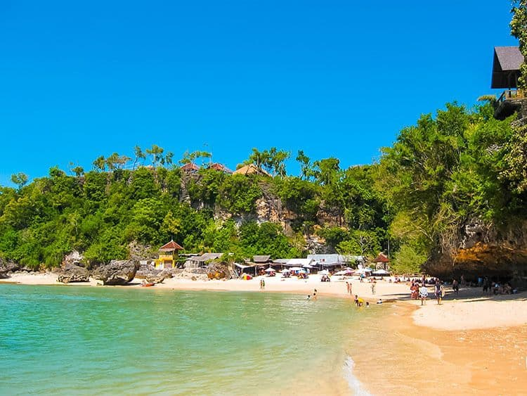 What to do in South Bali - Visit Padang Padang Beach