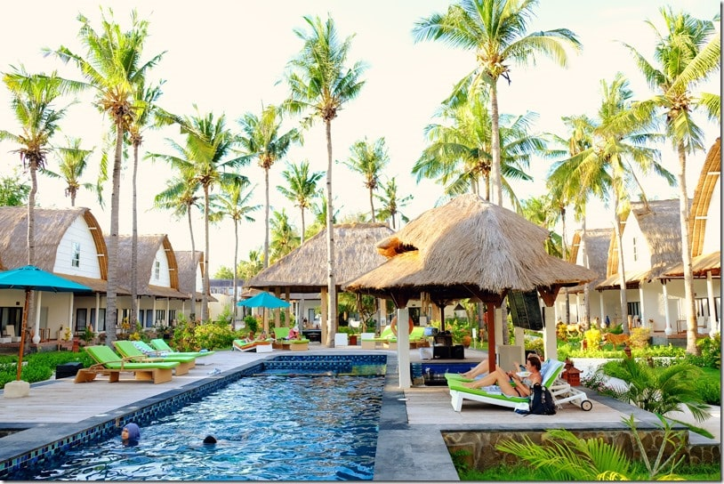 Jambulukuk Oceano Resort Gili Island