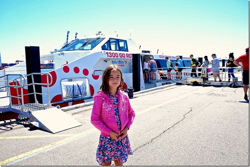 Ferry from Fremantle to Rottnest Island