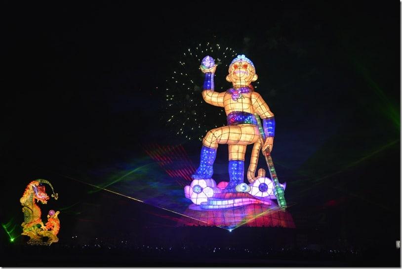 festivals in taiwan - taiwan lantern festival