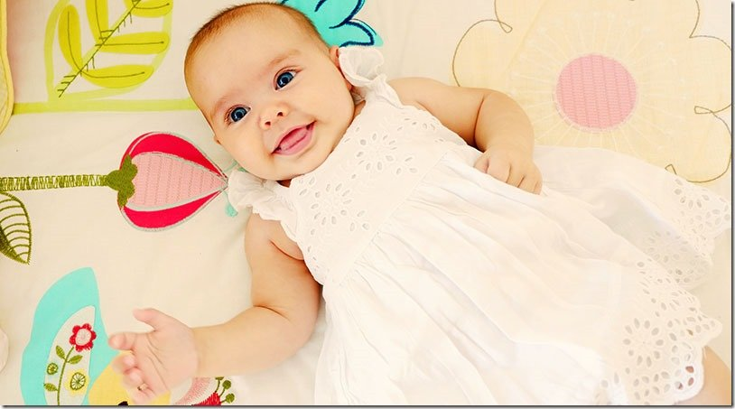Our Sweet Baby Girl | Avie at 4 Months