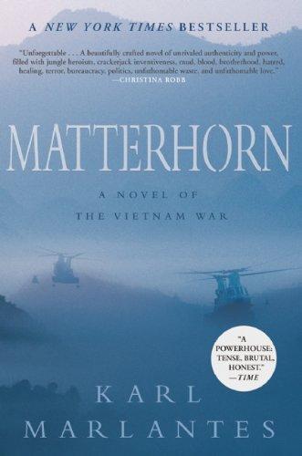 vietnam novels bestsellers Matterhorn: A Novel of the Vietnam War by Karl Marlantes novels about vietnam vietnam war fiction