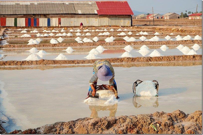 Kampot Salt Fields Cambodia