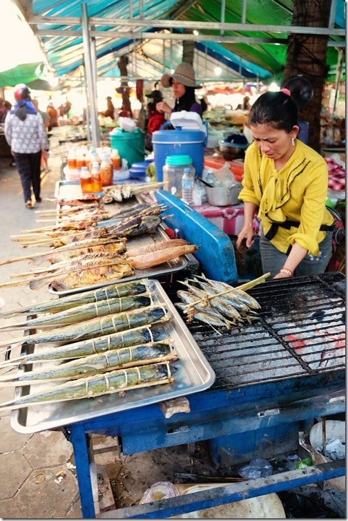 Kep Crab Markets Cambodia