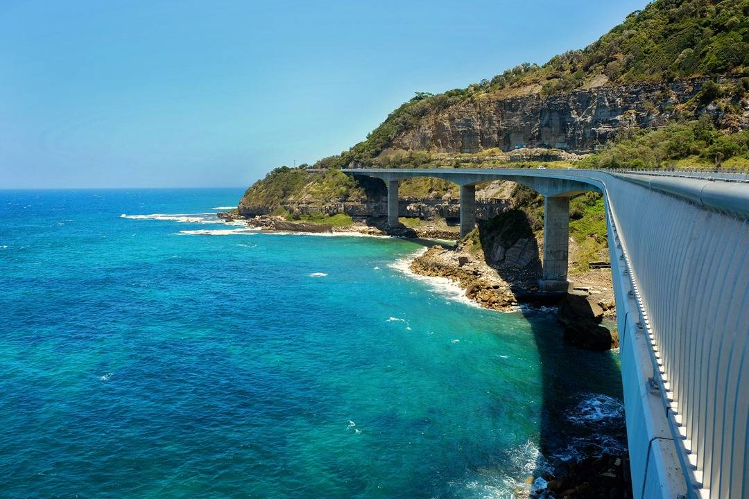 Best drives in Sydney to do Sea Cliff Bridge Walk
