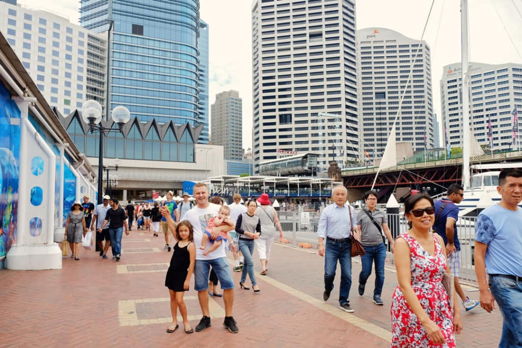 Things to do in Darling Harbour darling harbour wharf Sydney