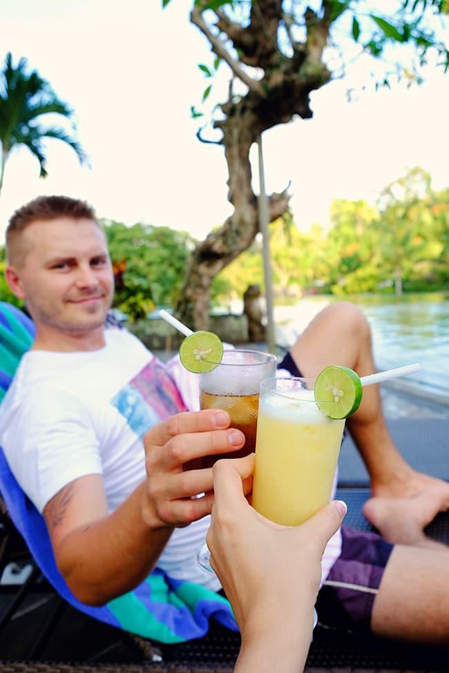 Cocktails in Ubud Bali