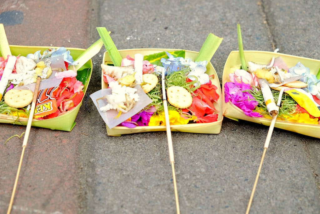 Balinese Baskets of Offering
