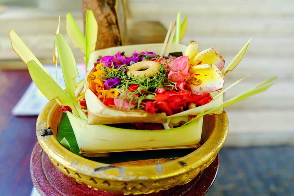 Canang Sari in Bali