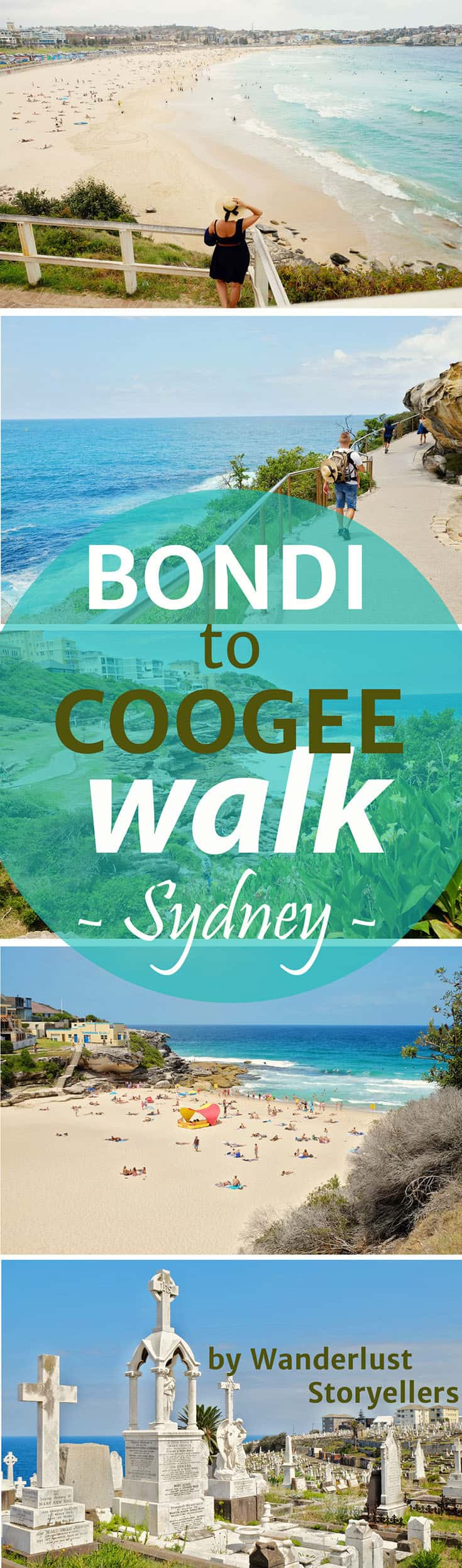 Enjoy a brillinat day trip from Sydney.  The Bondi to Coogee Coastal Walk is lovely.  Click to read about everything that you need to know about this walk. #sydney #bondibeach