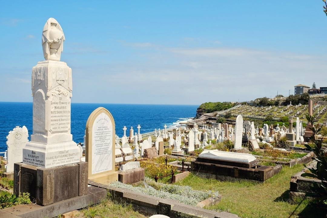 Bronte to Coogee Walk - A stop at Waverley Cemetery