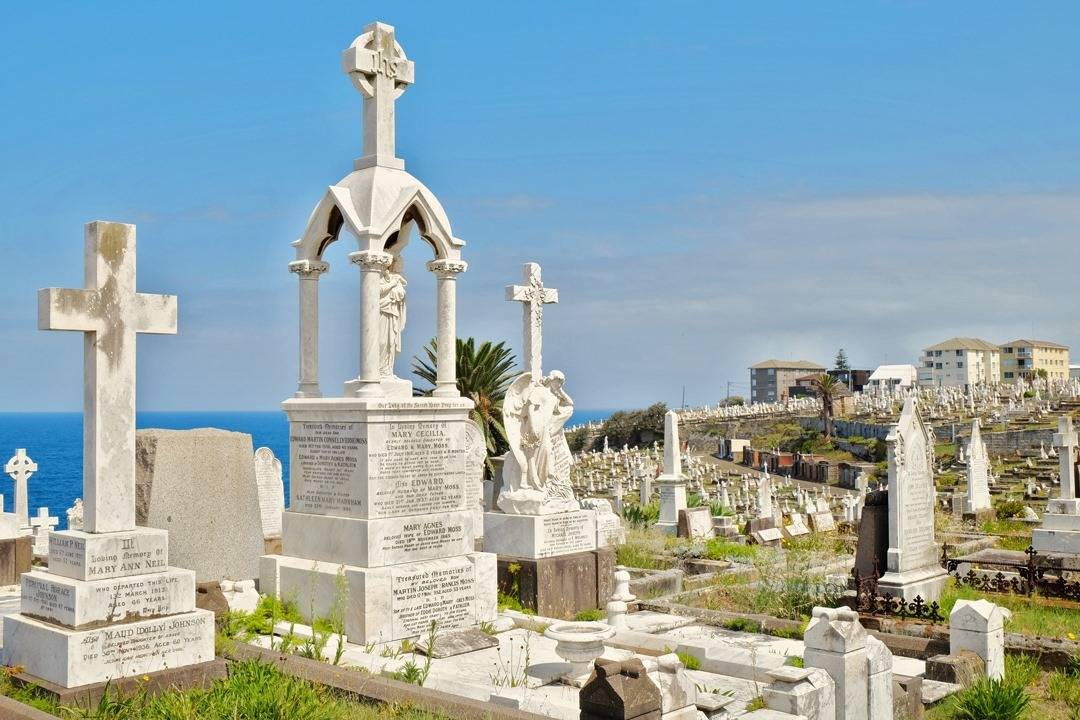 Sydney Coastal Walks Waverley Cemetery