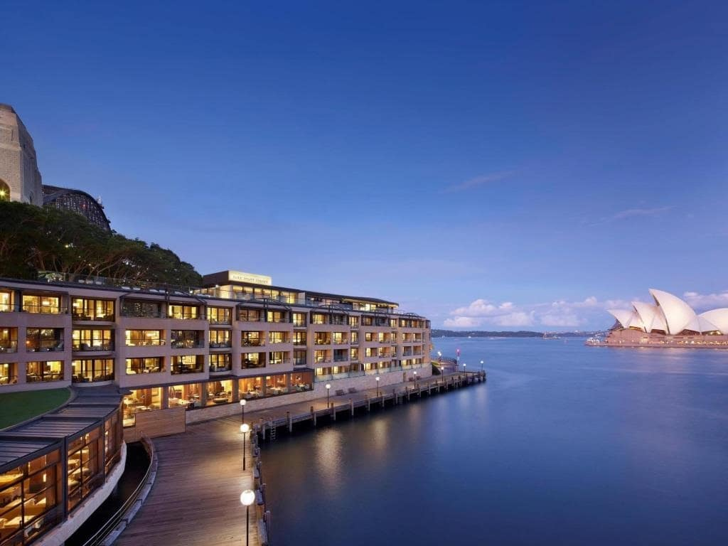 top 5 hotels near sydney harbour bridge the rocks