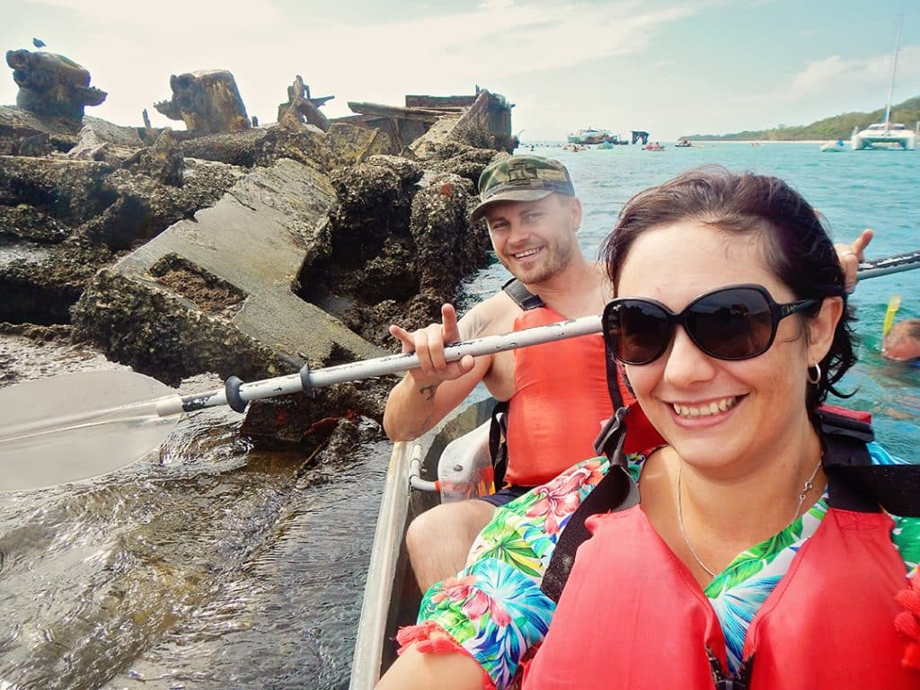 Moreton Island Activities | Kayak around the Shipwrecks