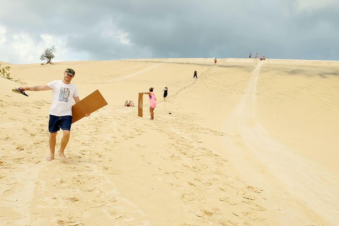 Moreton Island Sand Dunes | Moreton Island Adventures