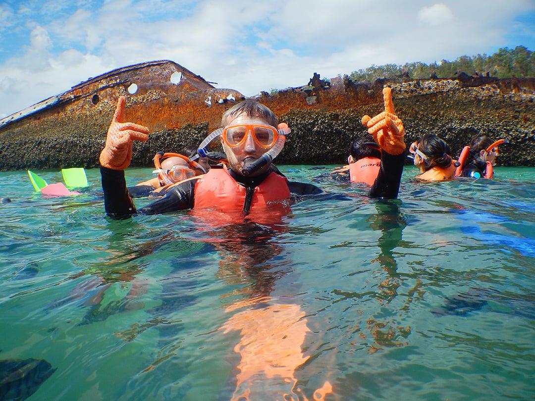 Moreton Island Snorkeling