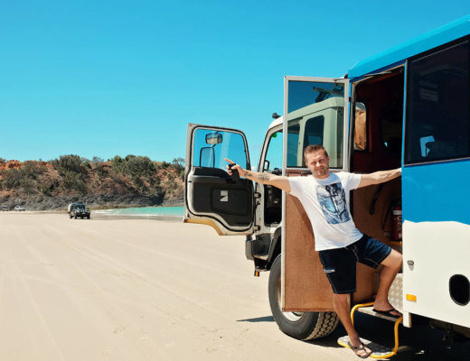 Moreton Island Tour with Sunset Safaris