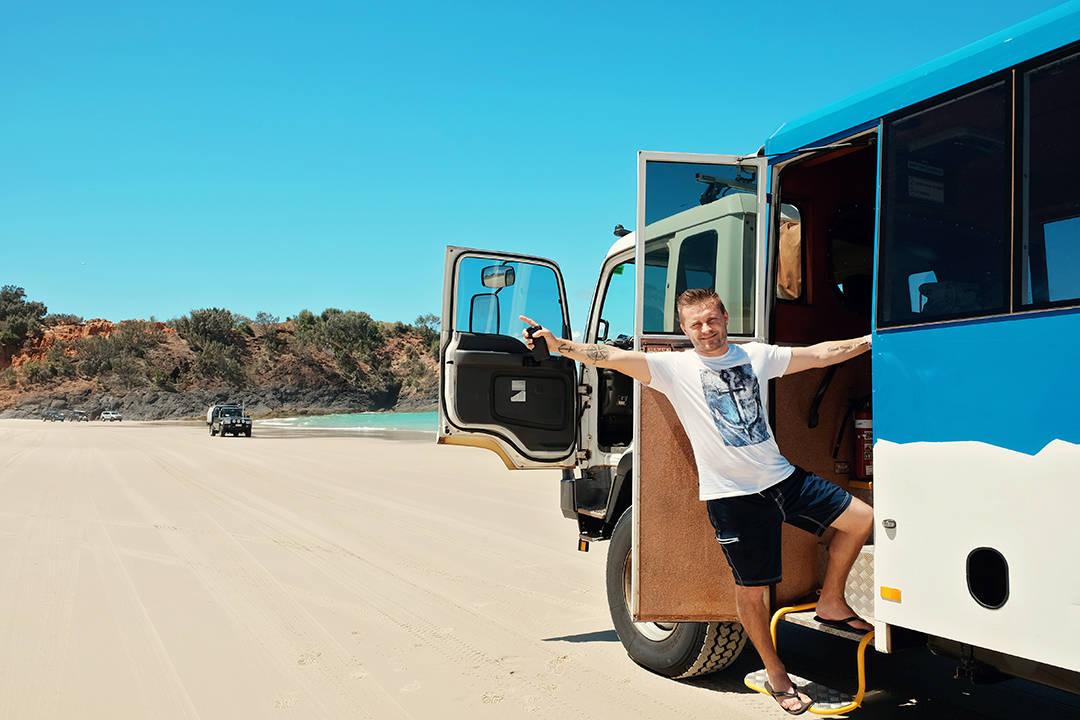 Moreton Island Tour with Sunset Safaris