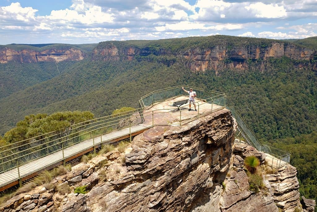 Pulpit Rock | Blue Mountains Day Trip Itinerary