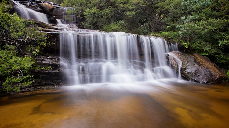 Wentworth Waterfall Blue Mountains NSW