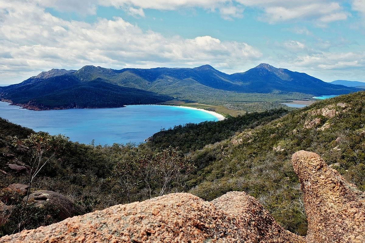 Wineglass Bay Walk to the Wineglass Bay Lookout