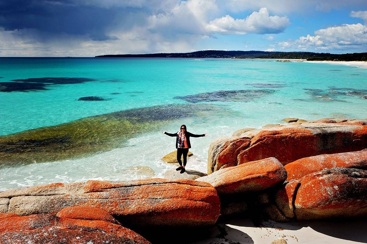 Bay of Fires East Coast of Tasmania