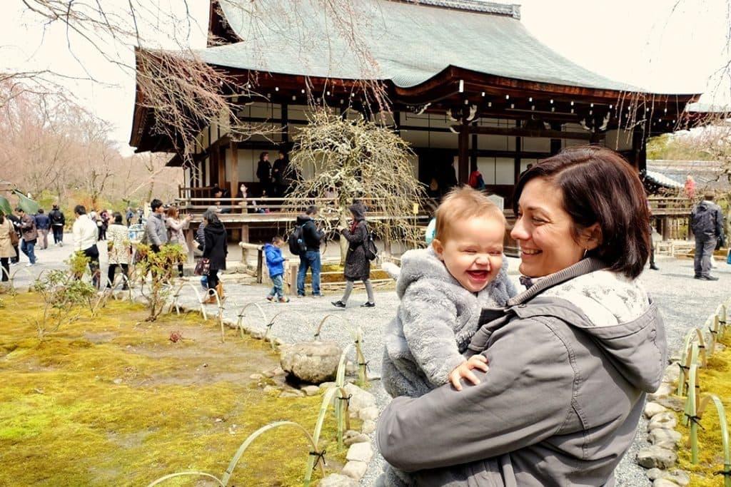 Tenryu-ji Temple Arashiyama Kyoto Japan