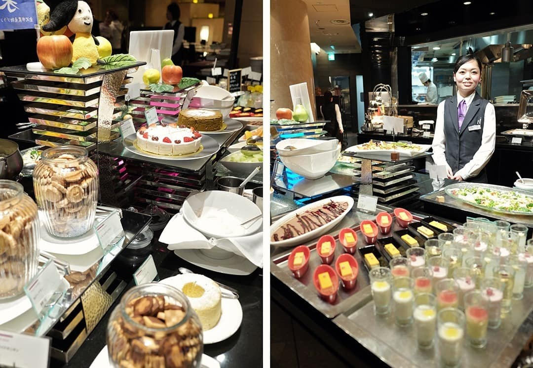 Buffet at Crowne Plaza
