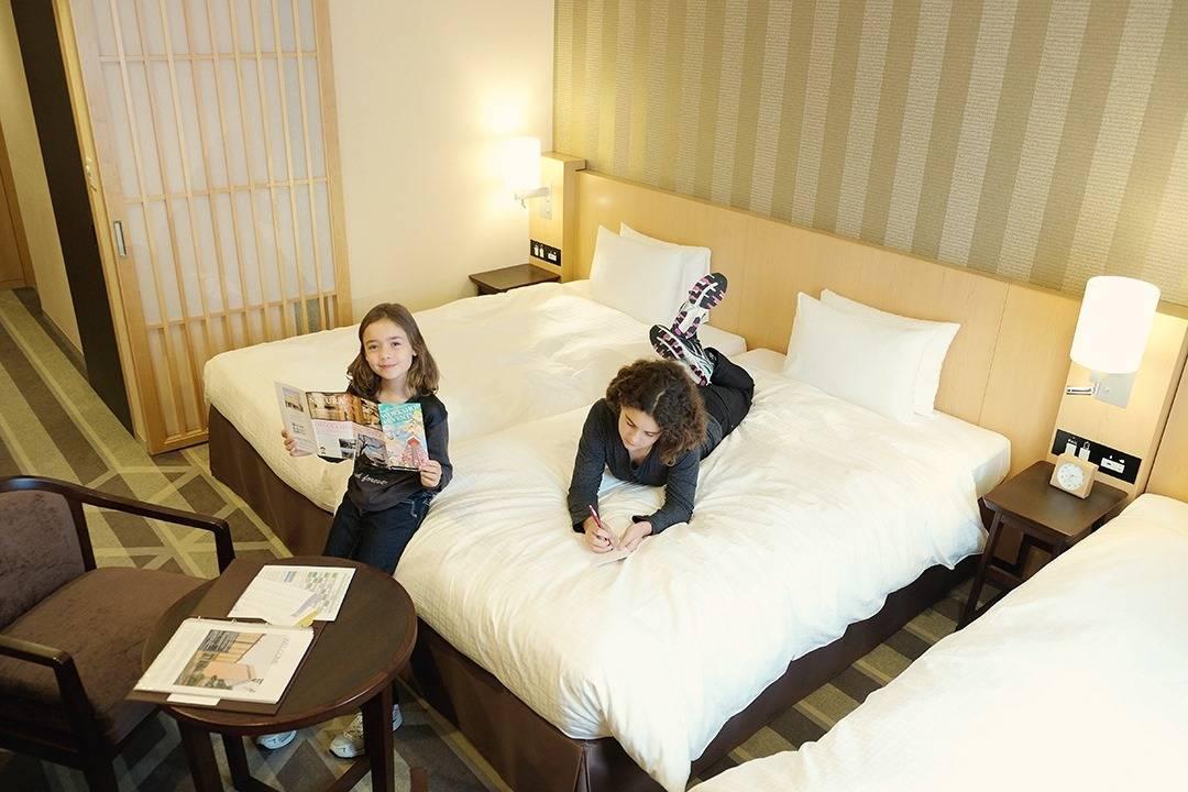 Family hotel Tokyo | Shiba Hotel 151 Review