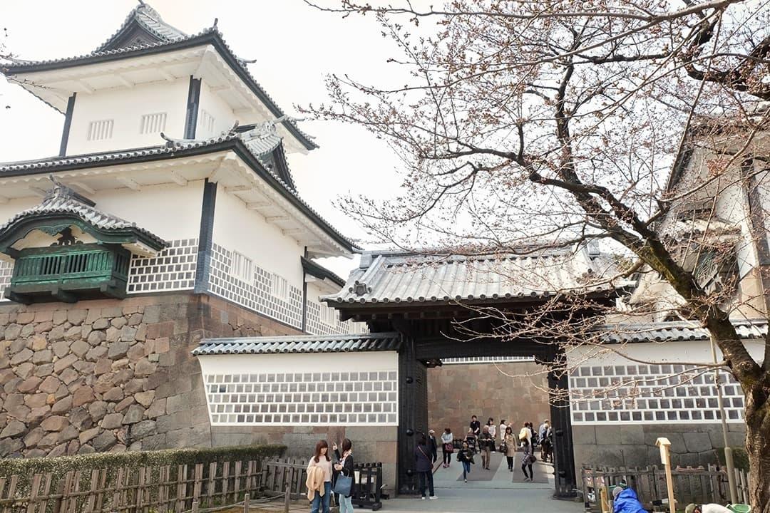Kanazawa Castle Park in Japan