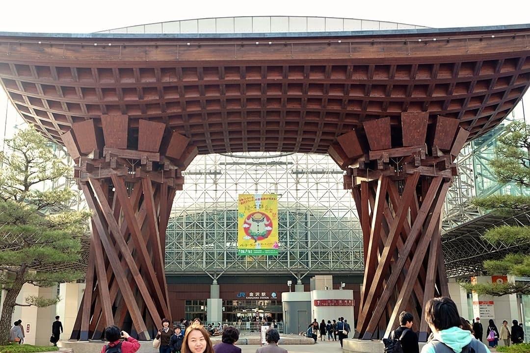 Kanazawa Station Gate