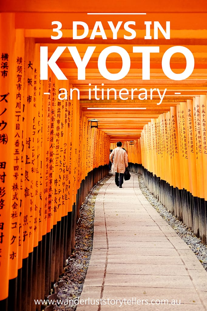 3 Day Kyoto Itinerary